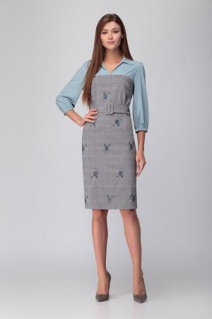 Платье М7234ц Размеры 46 48 52