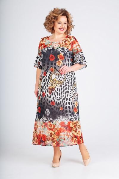 Платье М1756 Размеры 56-60