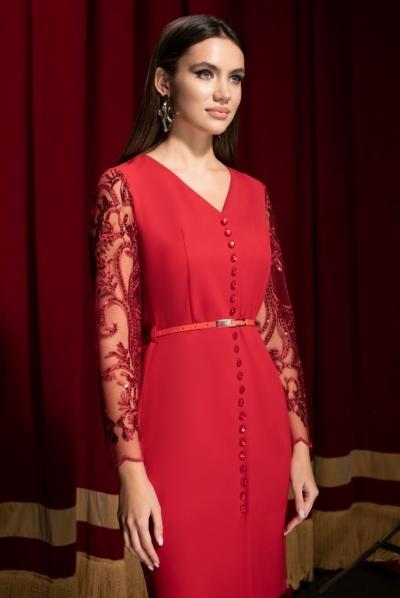 Платье М19-158-2 Размеры 42-52