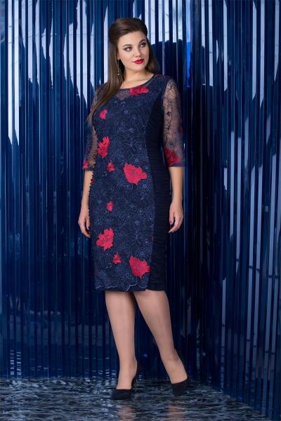 Платье М2462А-4 Размеры 52 56