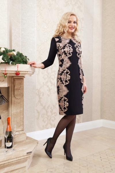 Платье М538 Размеры 52 56
