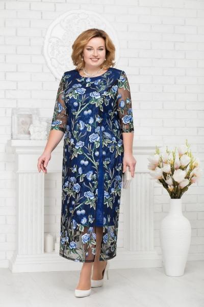 Платье М5686 Размеры 54-62