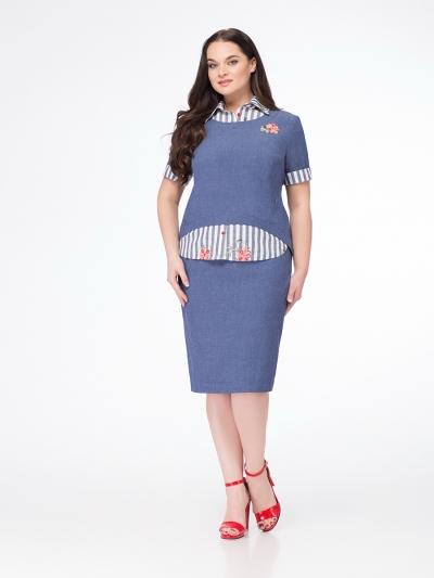 Платье М612-3 Размеры 52-56