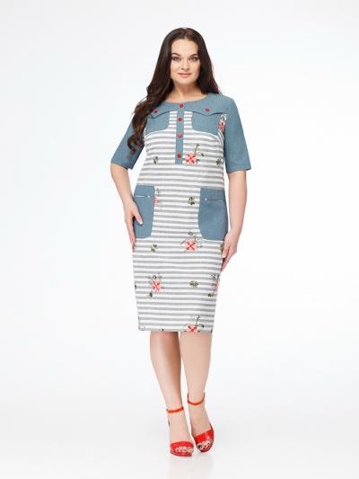 Платье М618-2 Размеры 52-62