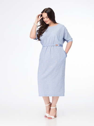 Платье М650 Размеры 52-56