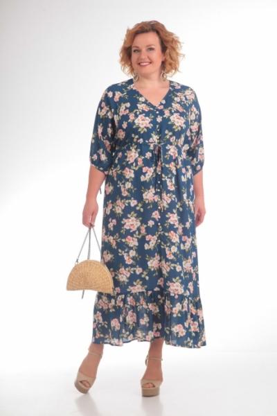 Платье М701 Размеры 54-64
