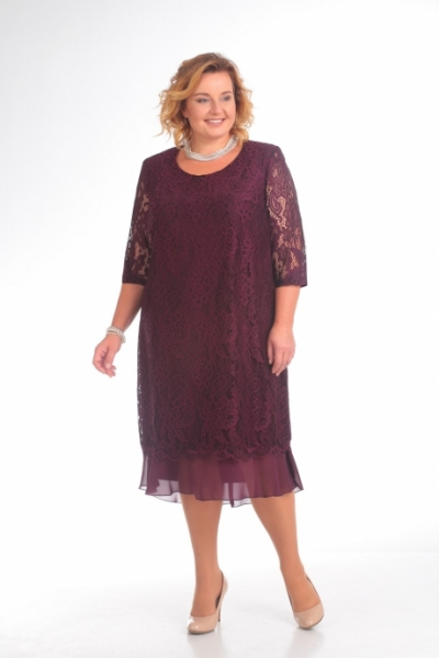 Платье М709 Размеры 56-66