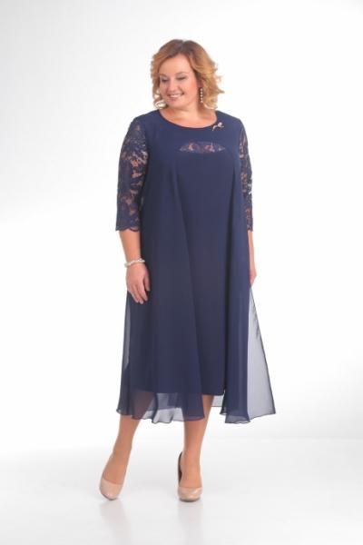 Платье М786 Размеры 56-72