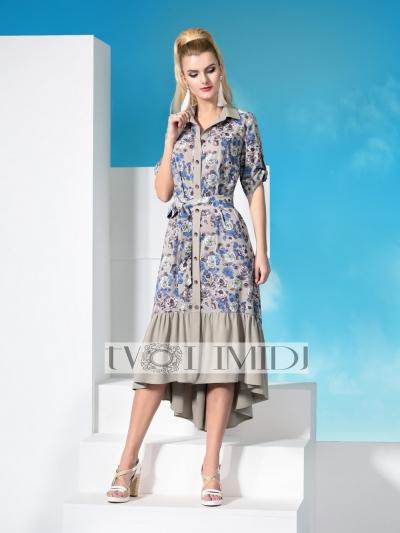 Платье М9975 Размеры 50 54