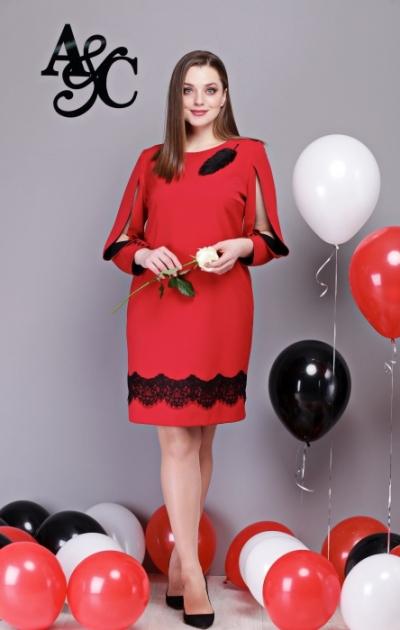 Платье М260 Размеры 48-52