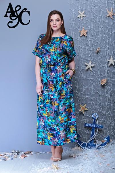 Платье М274 Размеры 48-52