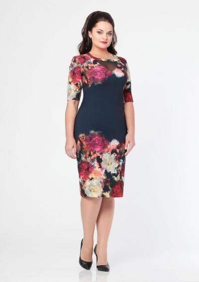 Платье М2014 Размеры 54 56