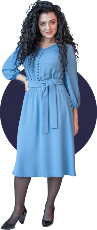 Платье М396 Размеры 44-54