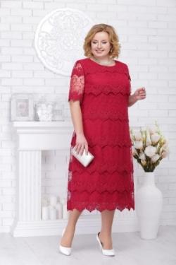 Платье М5697 Размеры 56-64